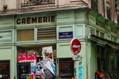 Winkel in Lyon Royalty-vrije Stock Afbeeldingen