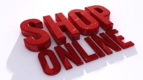 Winkel online Royalty-vrije Stock Afbeelding