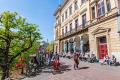 Winkel Samochód dostawczy Sinkel budynek w Utrecht, holandie Zdjęcie Royalty Free