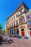 Winkel Samochód dostawczy Sinkel budynek w Utrecht, holandie obraz royalty free