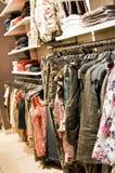 Winkel van kleren Stock Foto