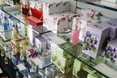 Winkel voor biologische producten in Rome Royalty-vrije Stock Foto's