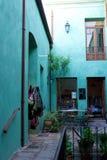Winkelbinnenplaats in San Antonio de Areco, Argentinië Royalty-vrije Stock Afbeeldingen