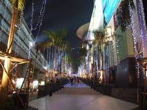 Winkelcentrum, Bangkok, Thailand. Stock Foto's