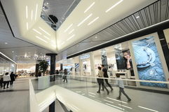 Winkelcentrum in Boekarest royalty-vrije stock foto's