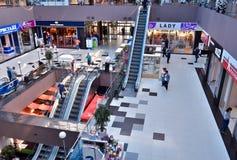 Winkelcentrum hoogste mening royalty-vrije stock foto's