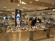 Winkelcentrum, Thailand. Royalty-vrije Stock Foto