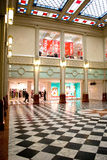 Winkelcomplex in een Bank Royalty-vrije Stock Foto