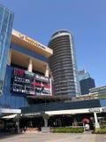 Winkelcomplex, hotels en residentials in Levent, Istanboel in Turkije Royalty-vrije Stock Fotografie