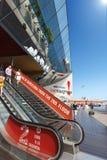 Winkelcomplex Maremagnum - Barcelona Spanje stock fotografie