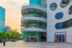 Winkelcomplex van het Syntrend het Creatieve Park Stock Foto