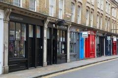 Winkelen het Oost- van Londen stock afbeelding