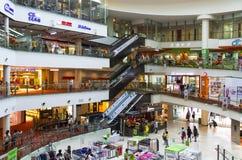 Winkelend Centrum Stock Fotografie