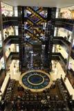 Winkelend centrum EUROPEES in Moskou stock fotografie