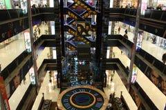 Winkelend centrum EUROPEES in Moskou royalty-vrije stock afbeeldingen