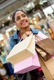 Winkelend meisje Royalty-vrije Stock Foto