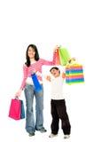 Winkelende mensen Royalty-vrije Stock Afbeelding