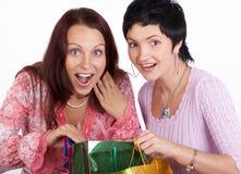 Winkelende vrouw Royalty-vrije Stock Fotografie