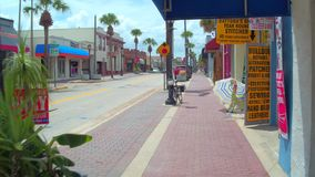 Winkels in Daytona Florida stock footage