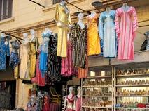 Winkels in Kaïro. Stock Afbeelding