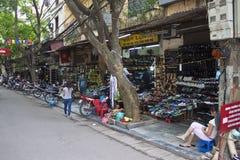 Winkels met schoenen royalty-vrije stock afbeelding