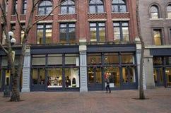 Winkels in Union Square Stock Foto's