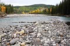 Winkelstück River Valley im Herbst stockfoto
