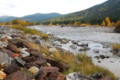 Winkelstück River Valley im Herbst lizenzfreie stockbilder
