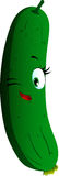 Winking cucumber or pickle Stock Photography