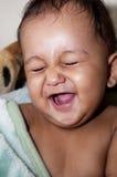 Winking Infant Royalty Free Stock Image