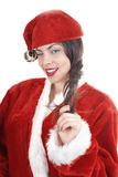 Winking Santa Stock Photo