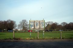 Winn Common, Plumstead, south east London royalty free stock photo