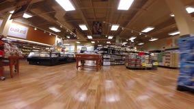 Winn Dixie Supermarket stock video footage
