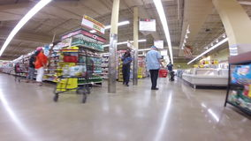 Winn Dixie Supermarket stock video