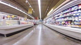 Winn Dixie Supermarket stock footage