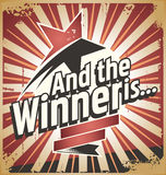 winnaar Royalty-vrije Stock Afbeeldingen