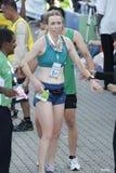 Winnaar van Marathon KL Royalty-vrije Stock Foto's