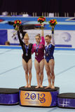 Winnaars van de competities Stock Foto