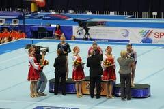 Winnaars van de competities Royalty-vrije Stock Foto