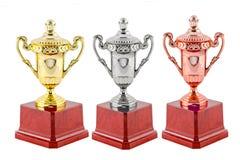 Winnaartoekenning van Kampioen stock fotografie