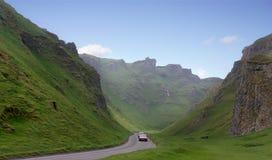 Winnats Pass Stock Image