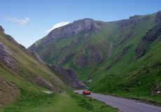 Winnats Pass Royalty Free Stock Image