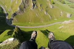 Winnats Pass Stock Photography