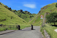 Winnats Pass in Derbyshire. Royalty Free Stock Image
