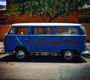 Winnebago. Old school car retro Royalty Free Stock Photography
