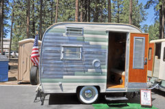 Winnebago Trailer Stock Images