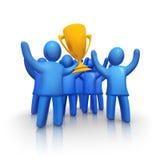 Winnend team Royalty-vrije Stock Afbeelding