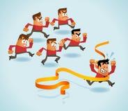 The Winner stock illustration