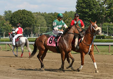 Winner April Rose in Post Parade Stock Photo