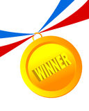 Winner Badge  Stock Photo